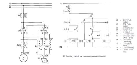 auto transformer starter wiring diagram