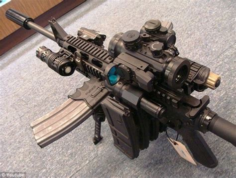 Ultimate AR 15 Mall Tactical Zombie Destroyer assault rifle for zombie apocalypse