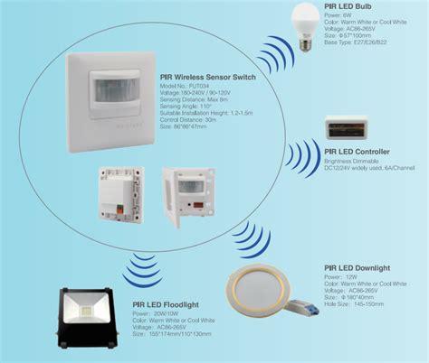 wireless motion sensor light switch occupancy sensor switch automatic infrared wireless pir
