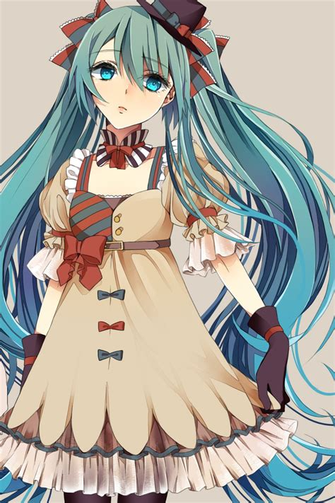 imagenes kawaii de miku hatsune miku vocaloid mobile wallpaper 1608993