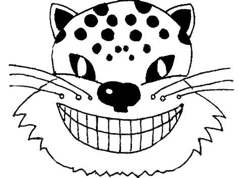 printable hyena mask template free halloween masks to print out