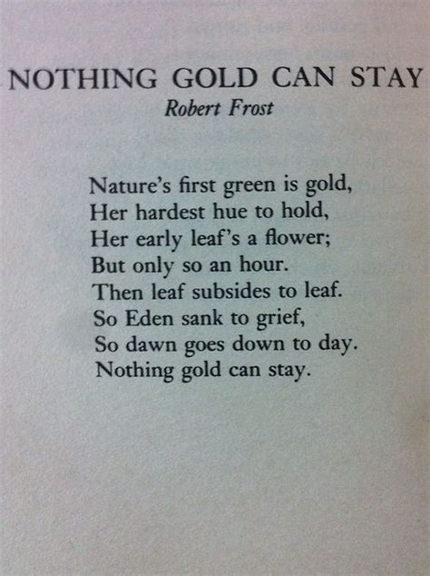 dramanice nothing gold can stay nothing gold can stay robert frost poetry pinterest