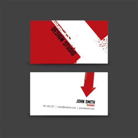 Free Design A Card | business card design vector free download