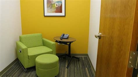 wellness room at work milwaukee s coolest offices room wellness center serve creative business interiors