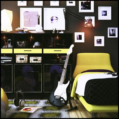 classic rock bedroom themed teen bedrooms musical theme