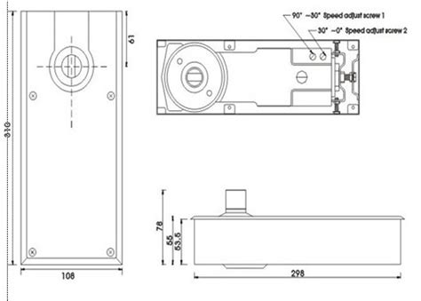 Pintu Kaca Piting Floor Hinge pintu floor hinge engselnya ditanam jasa aluminium
