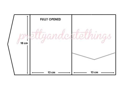 printable pocket envelope template ivory cream vintage wedding invitations diy pocket fold