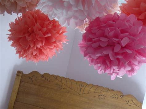 Make Tissue Paper Flowers - romanticizing the regular tissue paper flowers and baby