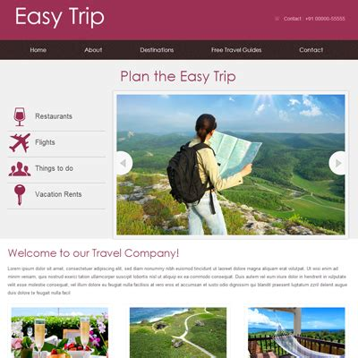 Easy Website Templates Learnhowtoloseweight Net Free Easy Website Templates
