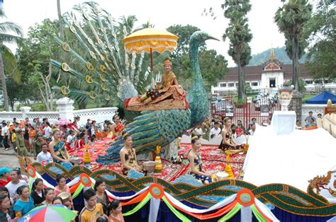 new year 2018 laos cultural site photo