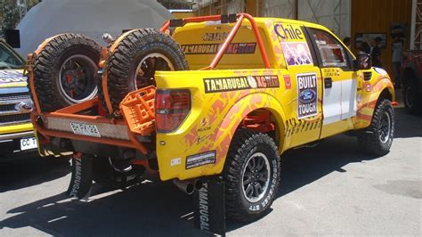 ford raptor rally truck chilean privateers running ford svt raptor in dakar rally