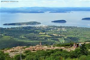Cadillac Mountain Bar Harbor Maine Cadillac Mountain In Acadia National Park Bar Harbor Maine