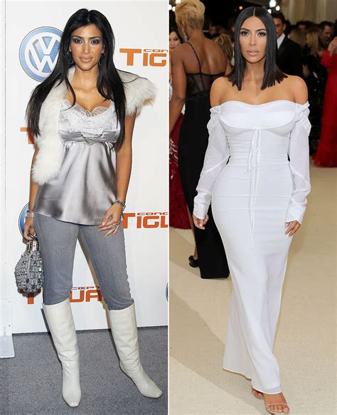 kim kardashian and style before and after kanye west how kanye west influenced kim kardashian s style people com