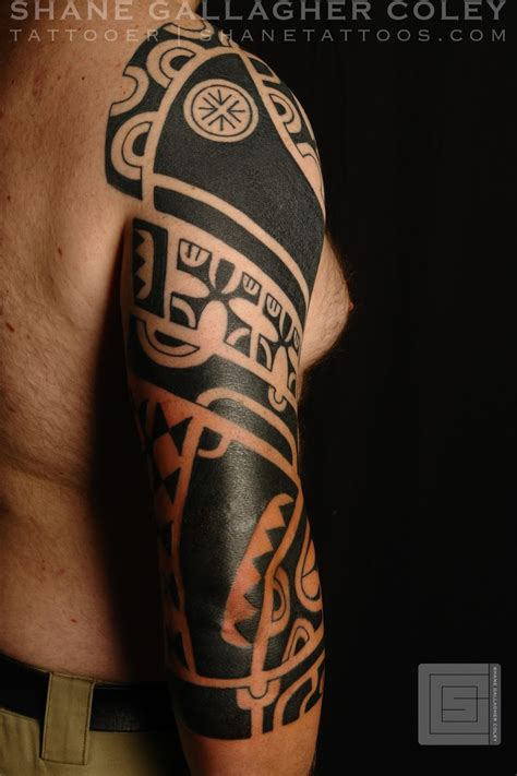 marquesan tattoo shane tattoos marquesan sleeve