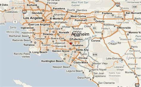 anaheim california map anaheim location guide