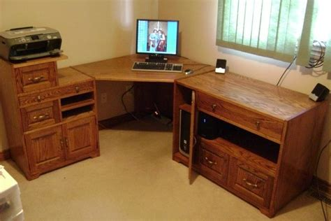 Handmade Computer Desk - handmade computer desk by root woodworking