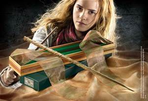 hermione wand at noblecollection