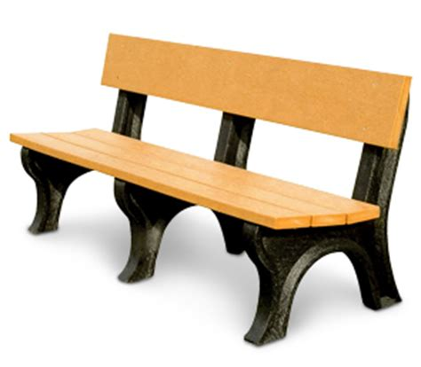 landmark memorial bench recycled plastic park benches