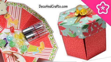 mi themes v6 tarjeta explosiva caja sorpresa de regalo hexagonal ideas