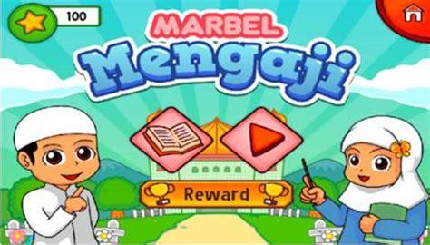 Marbel Bantal Anak Lucu Milo 5 android islami terbaik yang bagus buat anak