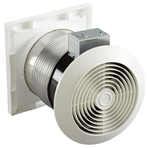 wall exhaust fans with louvers broan 512m through wall fan 6 inch 70 cfm 3 5 sones
