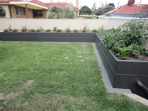 Garden Bed Walls Raised Garden Beds Against Fence Raised Bed Against Fence