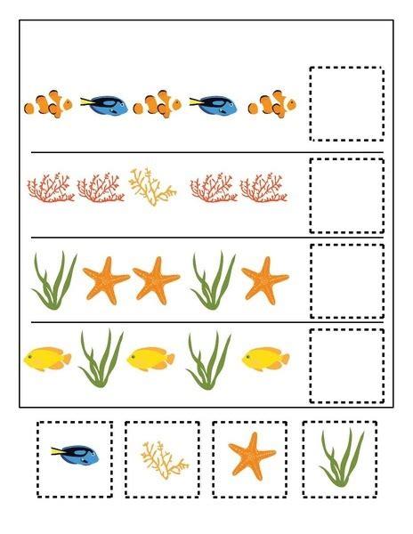 animal pattern worksheets for kindergarten free worksheets 187 ocean pattern worksheets free math