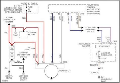 2002 ford focus wiring diagram 2002 ford focus ford focus alt reg electrical problem 2002 ford
