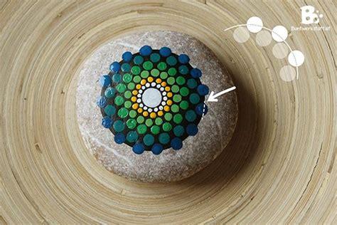 stein muster malen mandala stein malen anleitung malen
