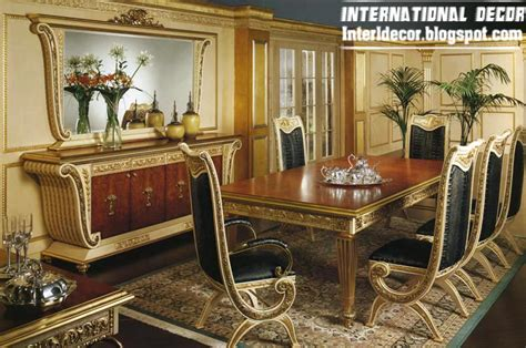 luxury italian dining room furniture glided models