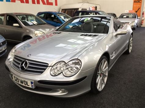 mercedes retail uk used mercedes sl series sl 500 auto from 163 12950