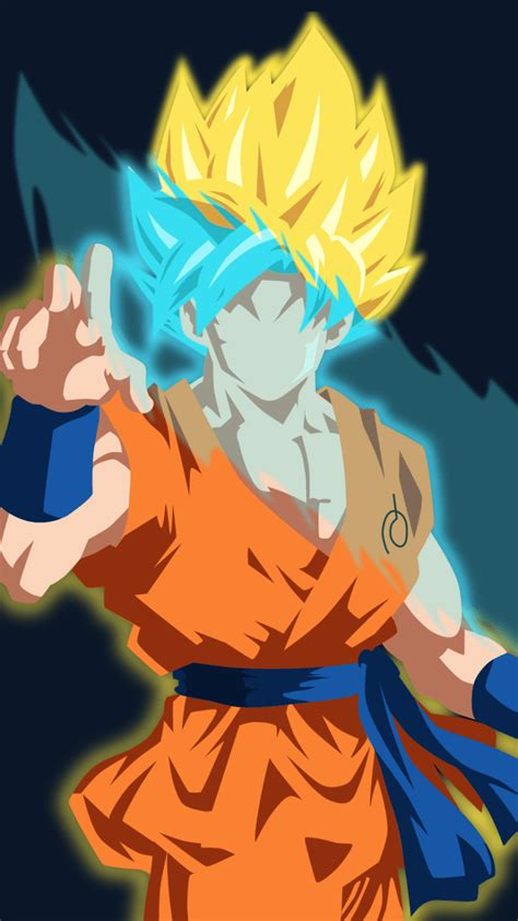 dragon ball super wallpaper for iphone super saiyan blue wallpapers wallpaper cave