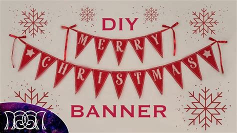 Diy Banner 1 banner diy merry and happy new year 2018