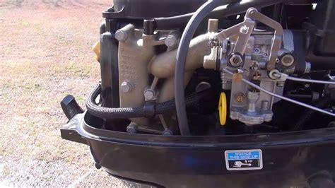 fix mercury fuel problem carburetors ok bad fuel pump - Yamaha Jet Boat Vapor Lock