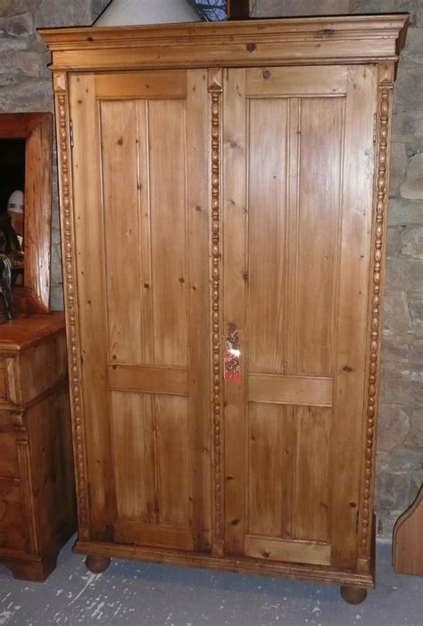armoire 2 m armoire ancienne en pin int 233 gralement restaur 233 e style antique 169