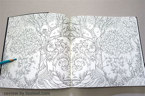 enchanted forest coloring book review coloring books 1 an initial review liz steel