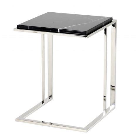Marble side table   Wilhelmina Designs