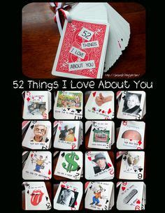 deck of cards valentines template 52 things i about you card deck template free