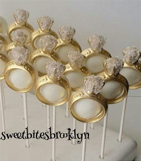 cake pop centerpieces for bridal shower ring cake pops engagement ring cake pops bridal shower cake pops wedding cake pops