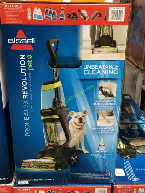 costco kennel costco 1000115 bissell proheat 2x revolution pet carpet cleaner2 costcochaser