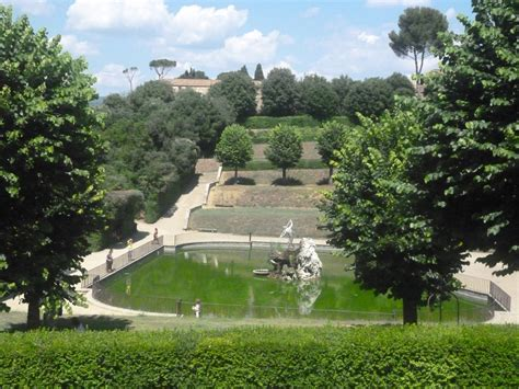 Garden Of Boboli Gardens Florence Dan Brown Inferno Places