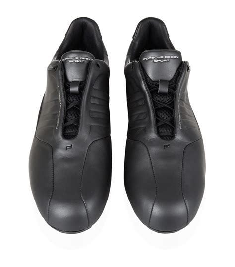 Wedges Slip On Els Zr39 porsche design els formotion driving shoe in black for lyst