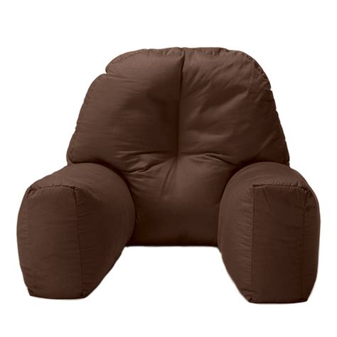 reading bean bag bed reading bean bag cushion arm rest back support