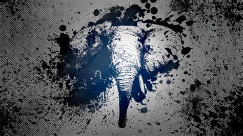 cool elephant wallpaper inked elephant wallpaper by davesartwork on deviantart