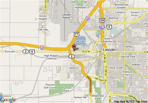 directions to lincoln ne map of days inn suites lincoln nebraska lincoln