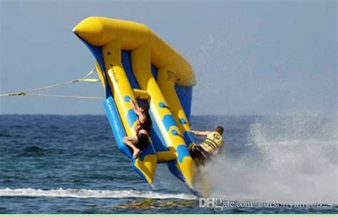 flying boat towables 2017 3 tubes flying towables inflatable flying fish