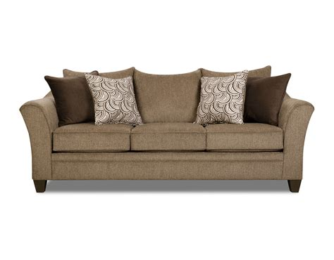 Albany Upholstery by Albany Truffle Sofa And Loveseat By Simmons