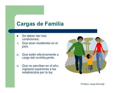 valores minimos no imponible y cargas de familia 2016 impuesto a las ganancias ppt modo de compatibilidad