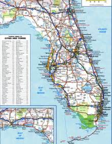 Road Map Of Florida by Florida Highway And Roadfree Maps Of Us