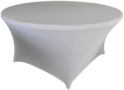 spandex table cover 72 quot silver spandex tablecloths covers